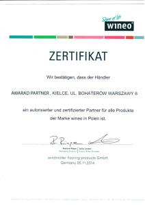 Certyfikat-Wineo