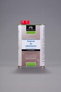 Preparat do odswiezania podlog drewnianych - olej bezbarwny i barwiony
